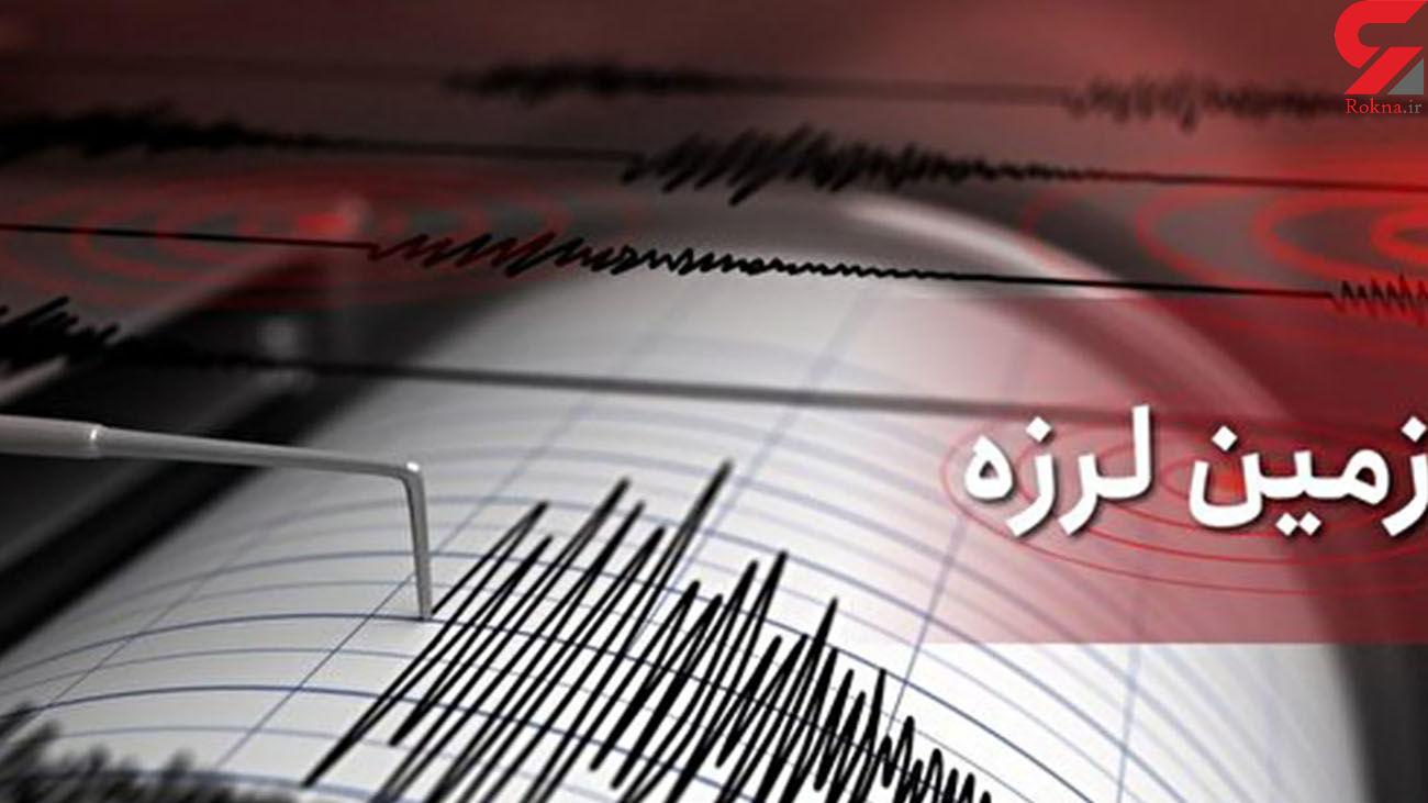 زلزله فین هرمزگان را 5 بار لرزاند