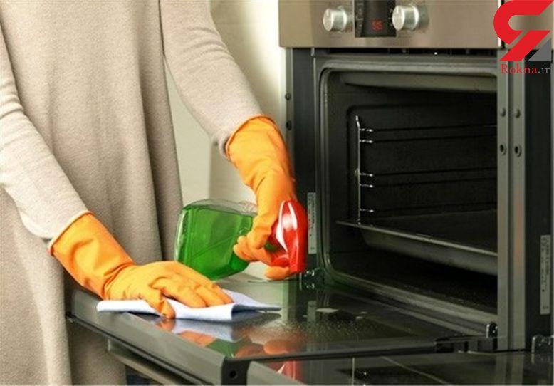 برق انداختن آشپزخانه در سه سوت/نکات ریز خانه داری