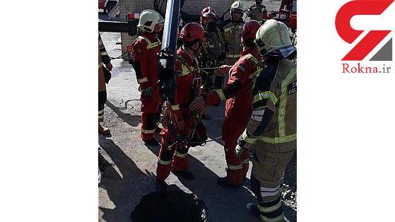 سقوط مرد جوان به اعماق چاه 10 متری + عکس
