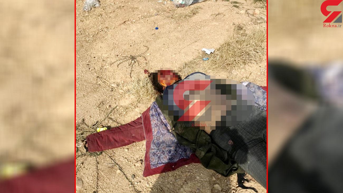 16+ فیلم و عکس جسد خورده شده یک زن در  شیراز / او را می شناسید؟!