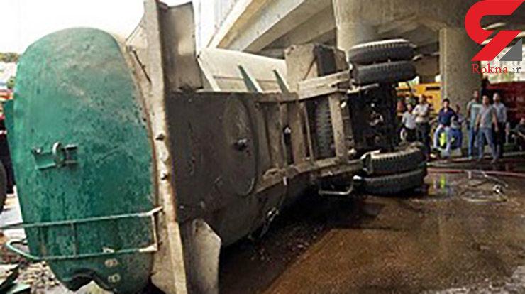 انفجار تانکر سوخت در هرمزگان قربانی گرفت