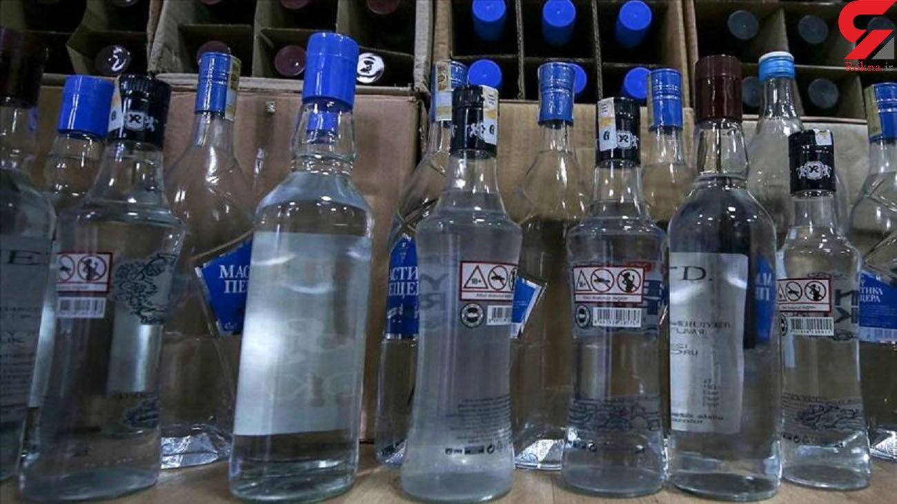 معدوم سازی 26 هزار سی سی الکل سفید غیرمجاز در بوکان