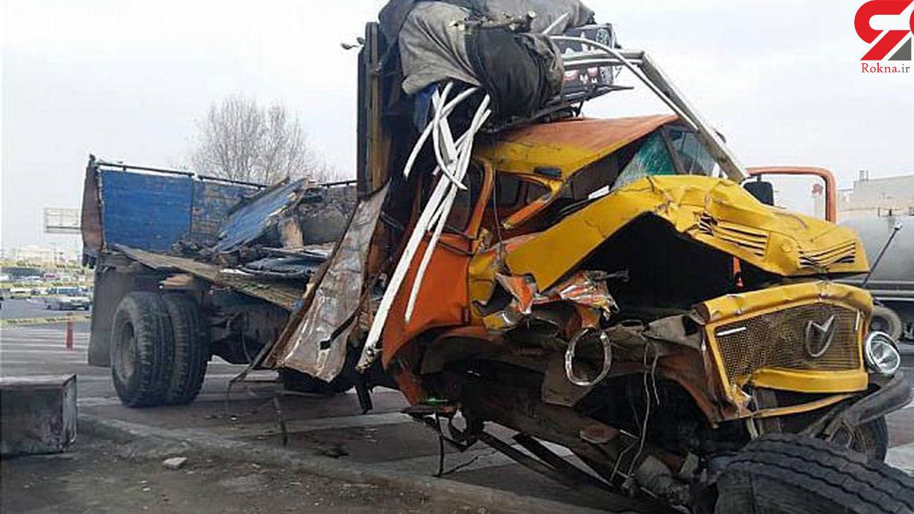 تصادف مرگبار در الیگودرز / 5 تن در دم کشته شدند + عکس تلخ