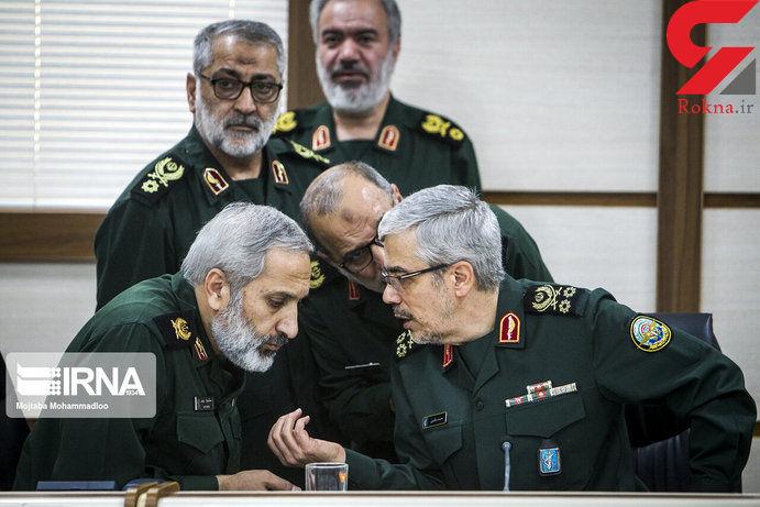 دیدار سردار باقری با فرماندهان سپاه تهران+ تصاویر