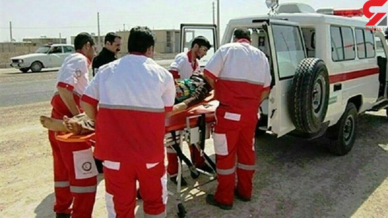 تصادف خونین کامیون با ساینا در فارس