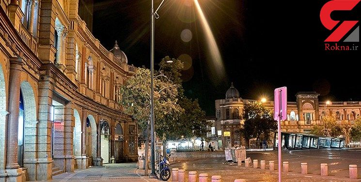 مرمت نمای قجری حسنآباد قبل از سال جدید