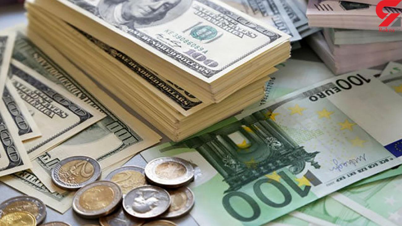 قیمت دلار و قیمت یورو امروز جمعه 5 آذر ماه 99 + جدول