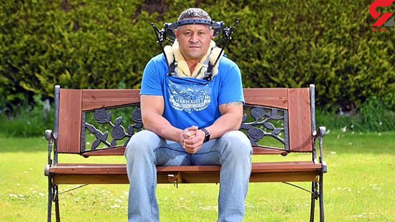 سقوط مرد انگلیسی زندگی عجیبی را برای او رقم زد + عکس