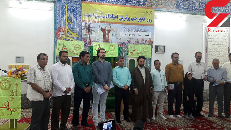 گزارش تصویری از برگزاری مراسم شب شعر غدیر درمسجد صاحب الزمان (عج) آبدان
