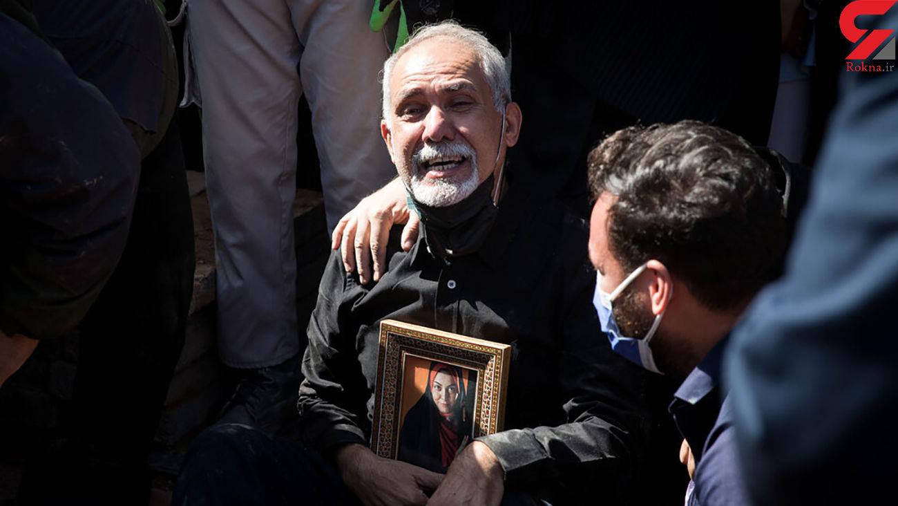 حمایت قاطع پدر آزاده نامداری از سجاد عابدی همسر دخترش + فیلم