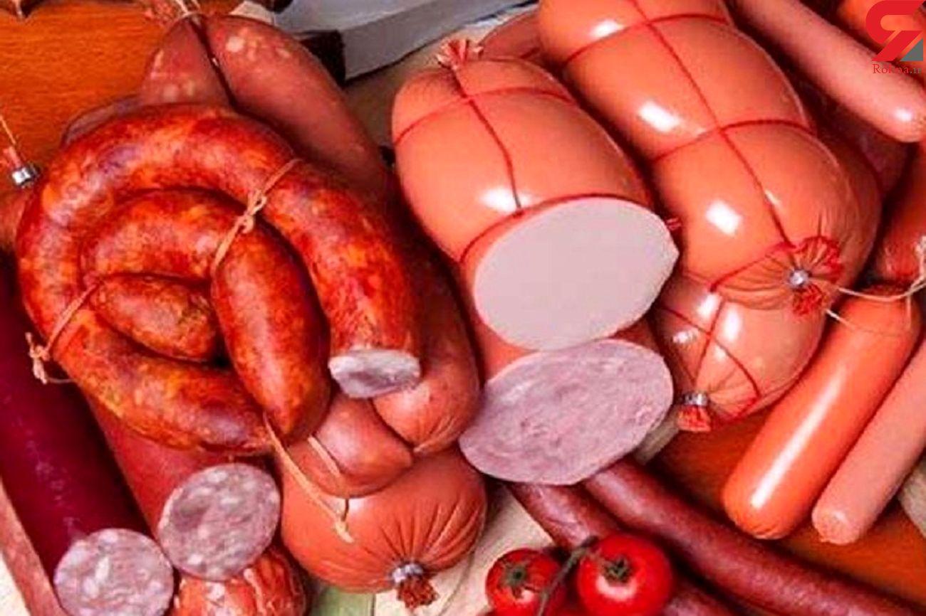 سوسیس و کالباس ارزان جایگزین گوشت در سفره مردم شد