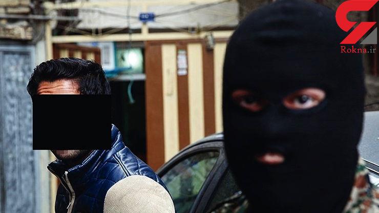 اقدام پلید مرد مسلح با زنان تهرانی داخل ماشین + عکس