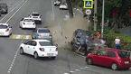 ورود مرگبار خودرو به پیادهرو در سوچی روسیه