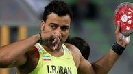 قهرمان المپیک ایران کرونا گرفت + عکس