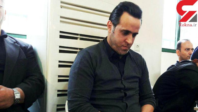 علی کریمی سیاه پوش شد +عکس