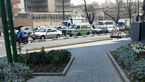 خودروی عجیبی که آقای عابر بانک با آن از دادگاه خارج شد +عکس