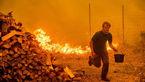 تصاویری باورنکردنی از سرایت آتش سوزی  به خانه های لاکچری در کالیفرنیا + عکس