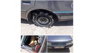 دستگیری سارق گاردریل های جاده ای توسط پلیس شادگان + عکس