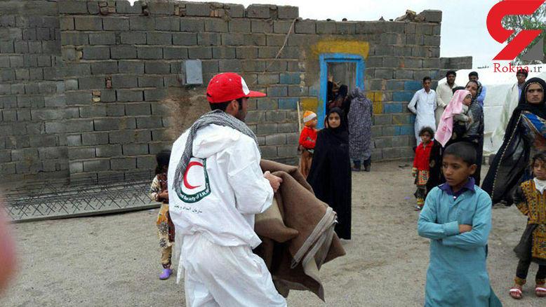 85 نفر گرفتار سیلاب در سیستان و بلوچستان اسکان داده شدند