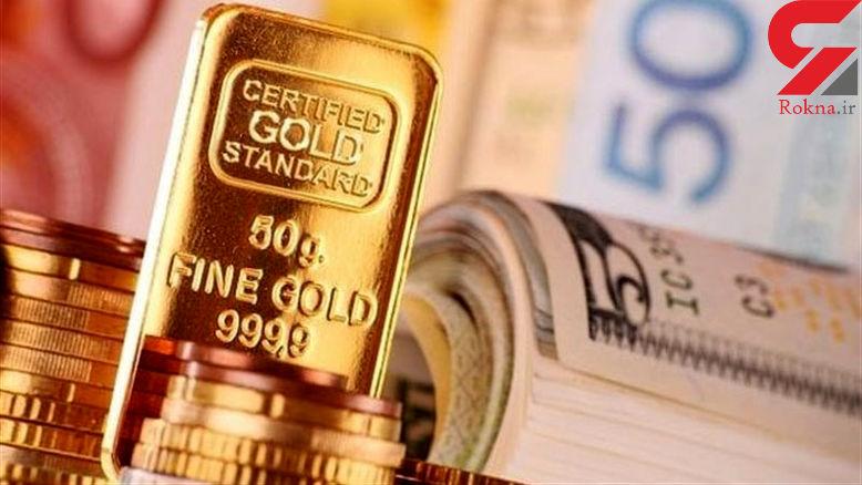 قیمت طلا، قیمت سکه و قیمت ارز امروز ۹۷/۱۲/۱۵