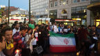 واکنش ایرانیان مقیلم آمریکا به حمله تروریستی داعش در ایران+ عکس