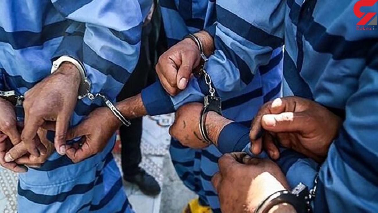 باند 4 نفره سارقان مسلح تلفن همراه در ایرانشهر متلاشی شد