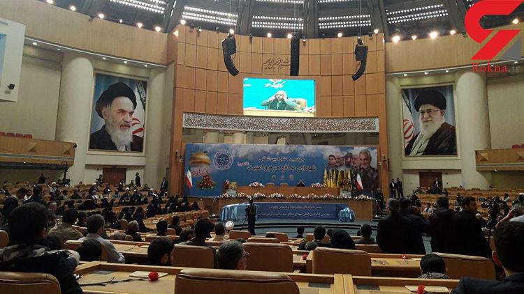 کنگره بینالمللی شهدای مدافع حرم و امنیت با محوریت سردار سلیمانی آغاز شد