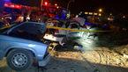فوری / تصادف مرگبار 3 خودرو در جاده خاوران + تصاویر