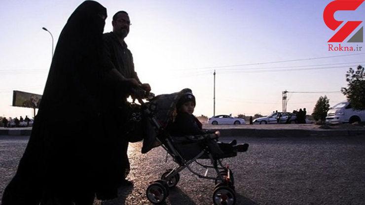 ۲۵۰ خانواده با ایده این جوان قمی به پیادهروی اربعین رفتند
