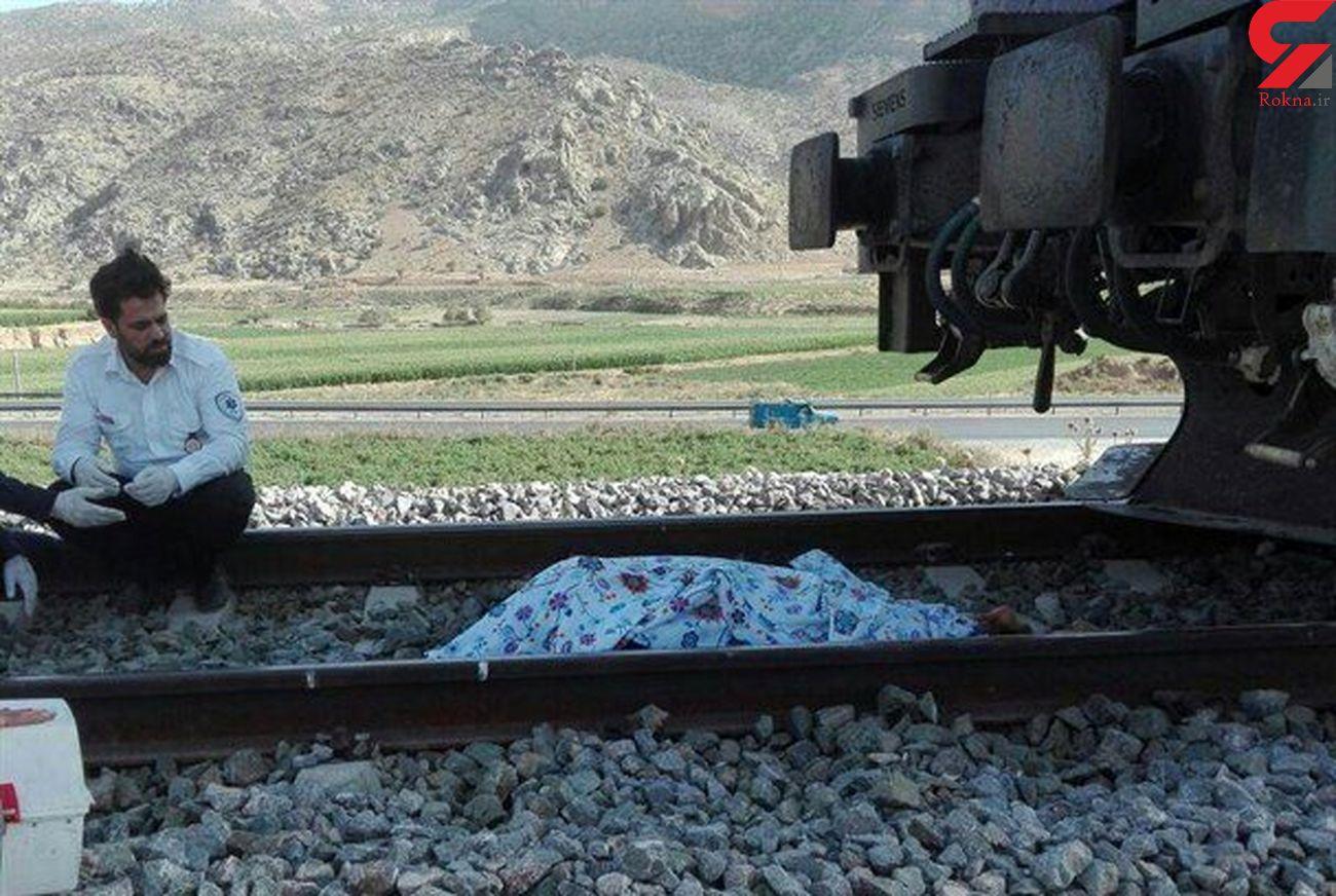 مرگ در اثر برخورد با لکوموتیو قطار