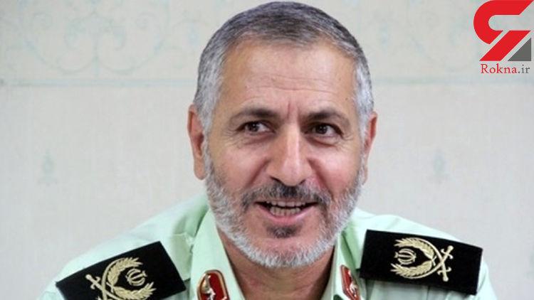 «سردار گودرزی» جانشین فرمانده مرزبانی ناجا شد