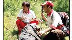 نجات پیرمرد روستایی 3روز پس از سقوط در جنگل در آذربایجان شرقی + عکس