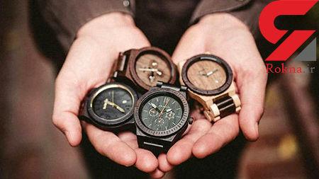 ساعت های مچی زیبای مردانه از جنس چوب