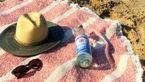 آموزش زیرانداز حوله ای مخصوص کنار ساحل و آفتاب گرفتن +تصاویر