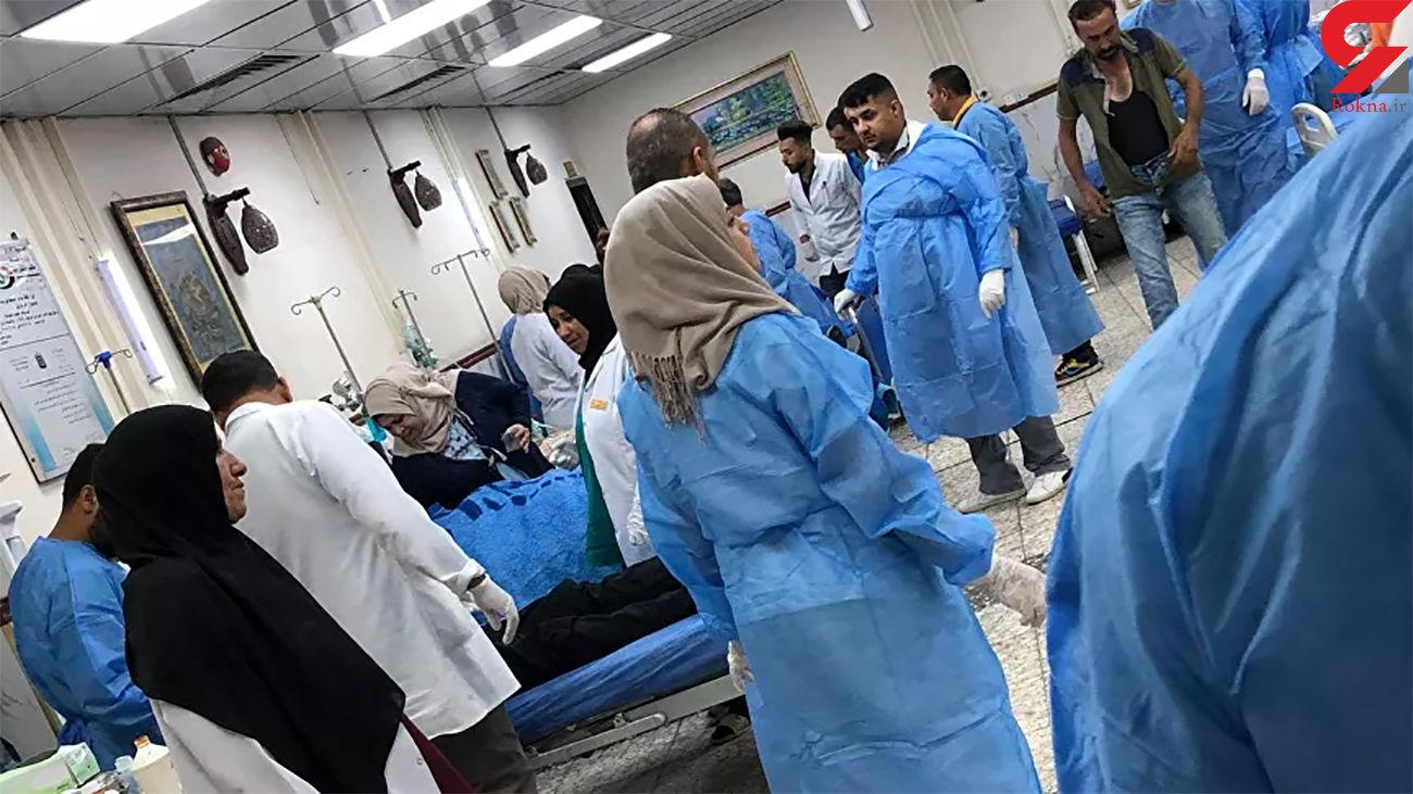 آتشسوزی در بیمارستان کرونایی ها در بغداد