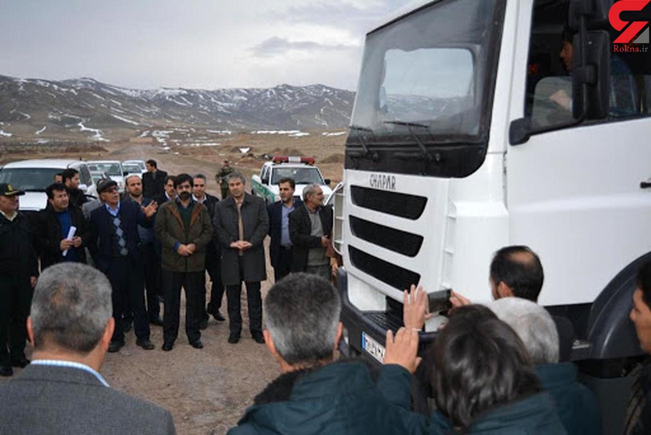 تولید هزار دستگاه کامیون به کارخانه کامیونسازی مشگینشهر سفارش شد