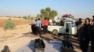 مرگ 2 مرد درسقوط وانت بار به کانال آب دزفول
