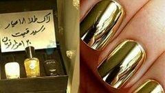 بلایی که سر خانم ها با لاک طلایی می آید / این هشدار راجدی بگیرد + عکس