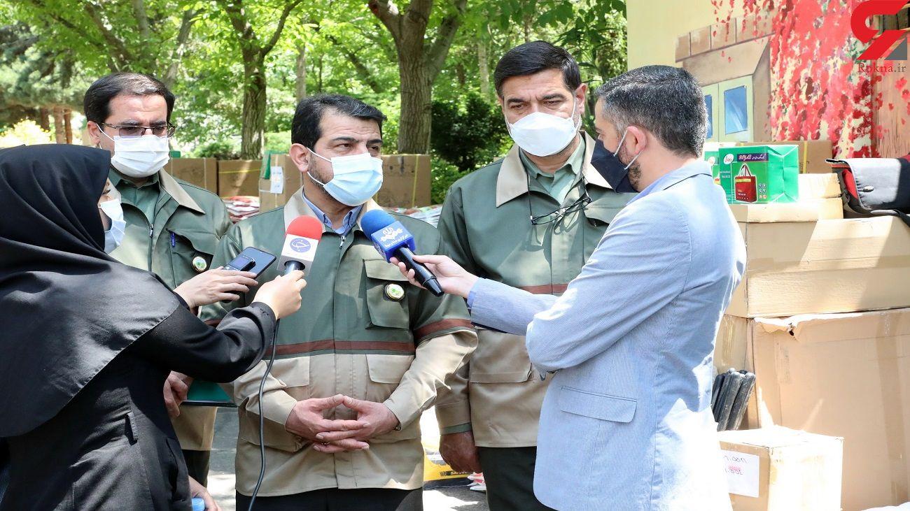 ارسال تجهیزات اطفای حریق سازمان جنگل ها به ۲۴ استان + عکس