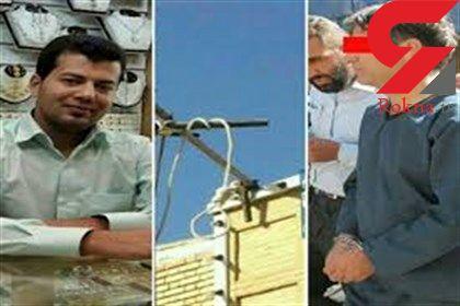 فردا صبح اجرا می شود / اعدام قاتل طلافروش یزدی در ملاء عام + عکس