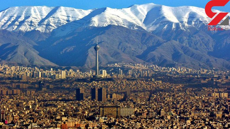 هوای تهران با شاخص ۶۹ سالم است