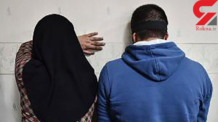 این پدر و دختر با هم کابل برق های هیرمند را سرقت می کردند +عکس