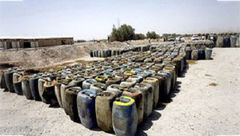 کشف ۲۰ هزار لیتر گازوئیل قاچاق در بستک/دستگیری۲متهم