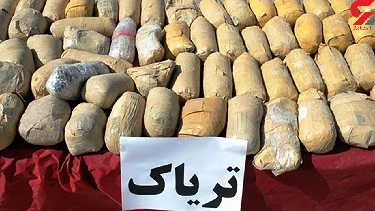 تریاک فروشان یافت آباد تهران با بیش 28 کیلو مواد به دام افتادند