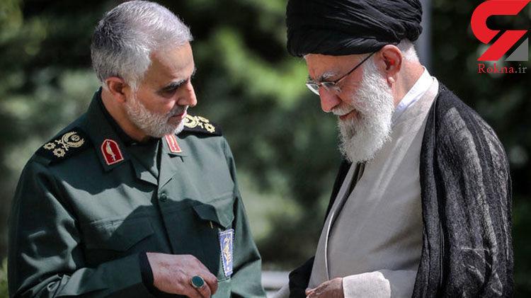 شوکه شدن سردار سلیمانی از دستور عجیب رهبر انقلاب