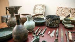 اشیای دوره ساسانی از قاچاقچیان در دشتستان کشف شد