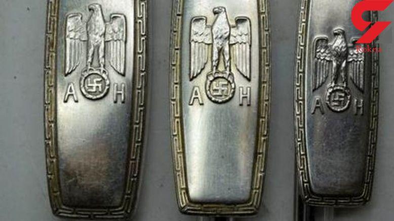 قاشق و چنگالهای هیتلر چه شکلی بودند!؟ + عکس