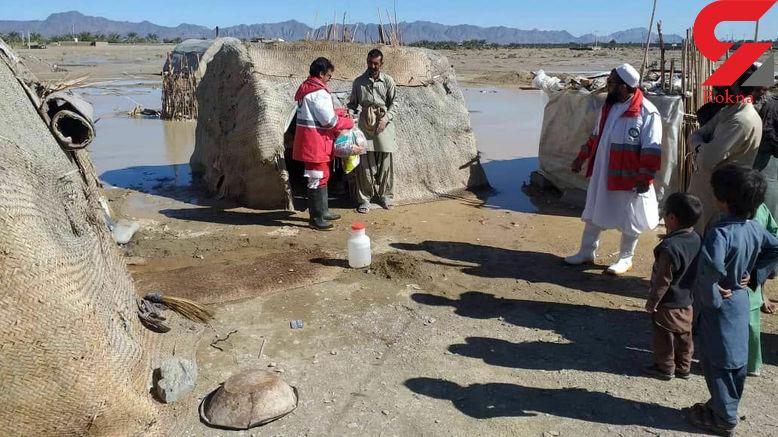 امدادرسانی به حدود 50 هزار آسیب دیده از سیل در سیستان و بلوچستان