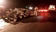 3 کشته و زخمی در تصادف جاده سوادکوه + تصاویر