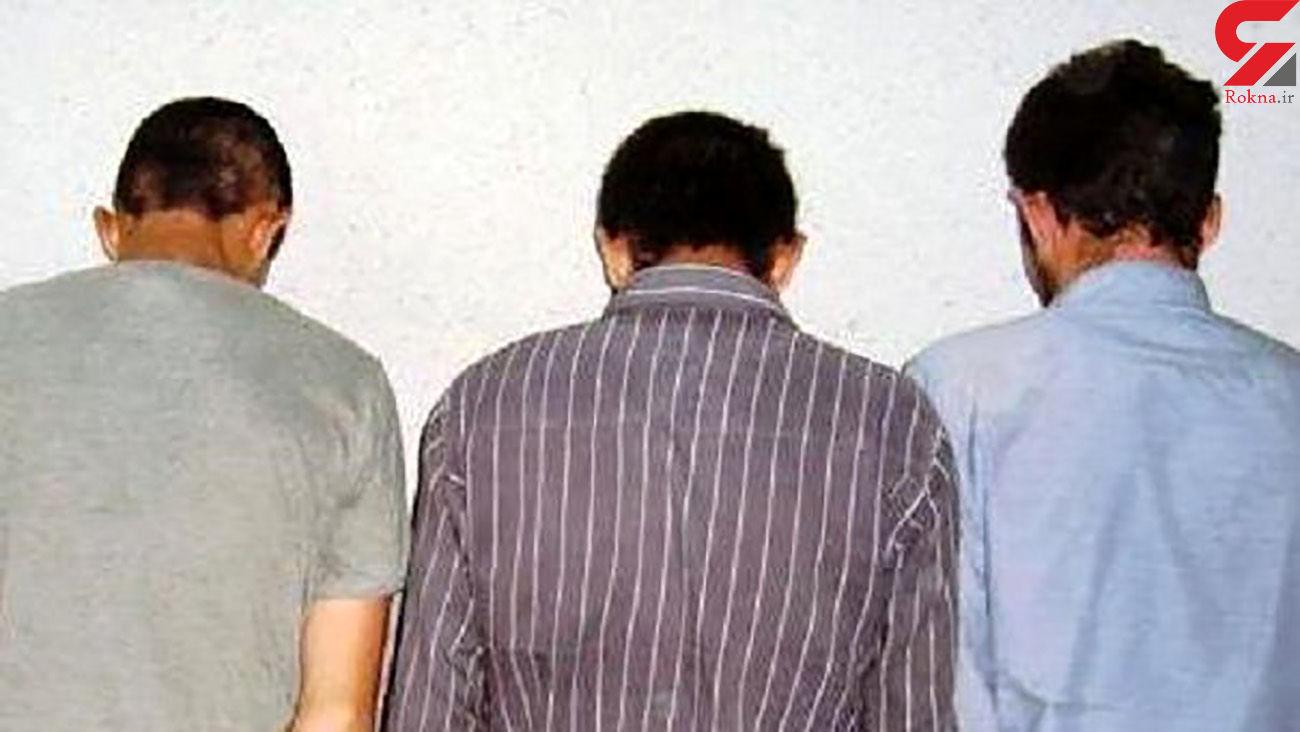 دستگیری 3 قاچاقچی مواد مخدر در آبدانان